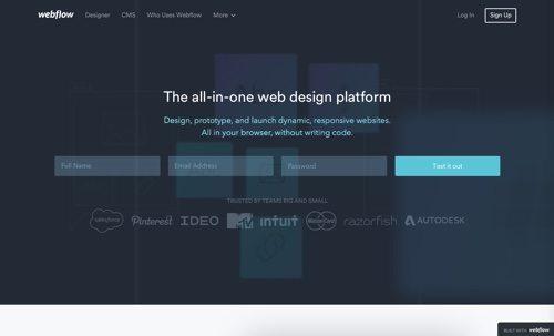 Webflow.