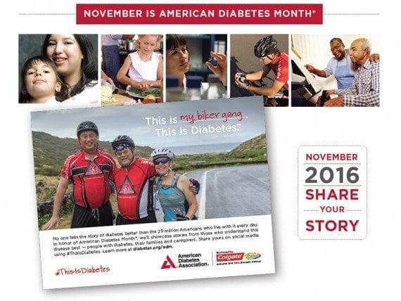 November is American Diabetes Month.