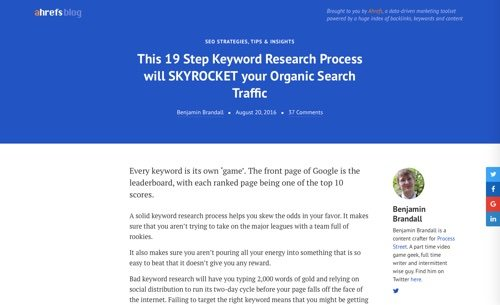 19-Step Keyword Research Process