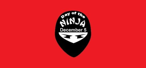 Focus on the ninjas in your industry for this off-the-wall holiday.
