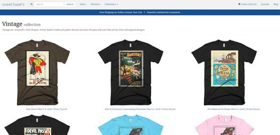Online t-shirt shops are popular with ecommerce entrepreneurs because they are easy to start — thanks to printing fulfillment services.