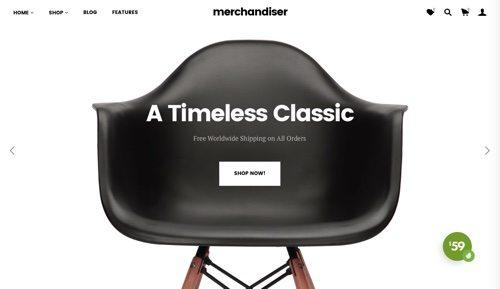 Merchandiser.