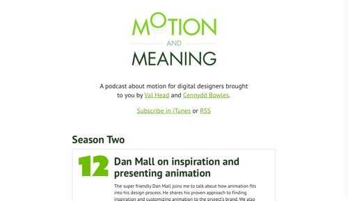Motion and Meaning.