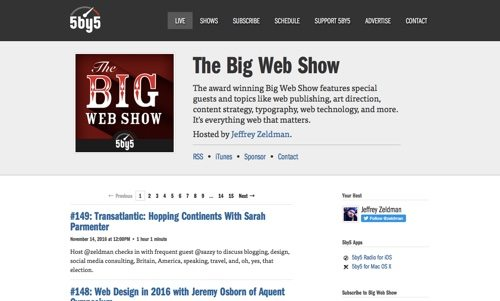 The Big Web Show.