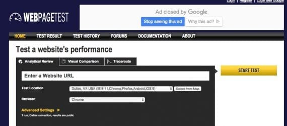 WebPageTest.com can measure how fast your site loads and identify areas of improvement. Google responds quickly to site speed improvements. An improvement in site speed now can result in more organic search traffic in just a few days.