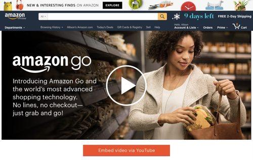 Amazon Go.