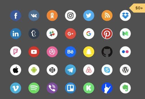 Free Social Icons.
