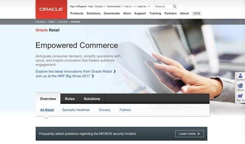Oracle Retail.