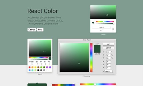 React Color.