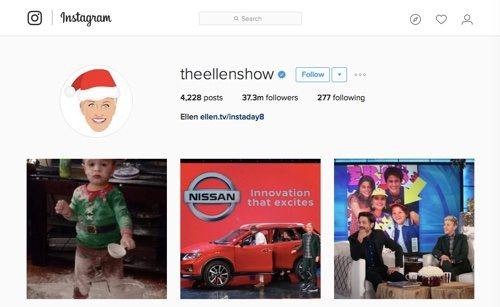 The Ellen Show.