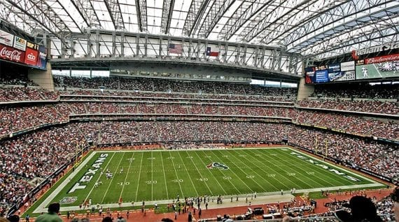 NRG Stadium is home to the NFL's Houston Texans and several rodeos.
