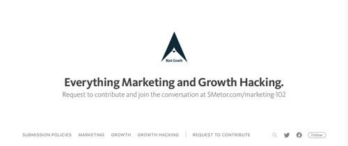 Everything Marketing and Growth Hacking.