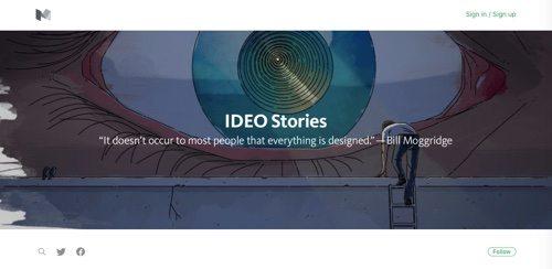 IDEO Stories.