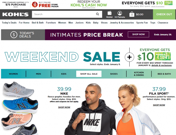 Kohl's has built a die-hard following with its Kohl's Cash promotions.