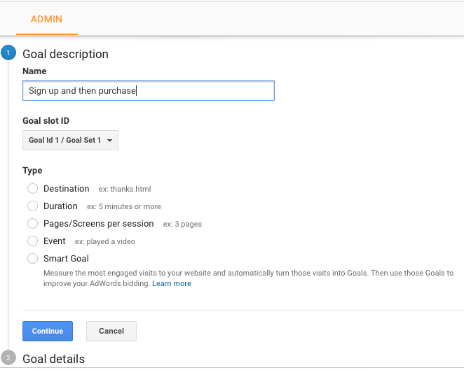 Use Goals in Google Analytics to track micro conversions.