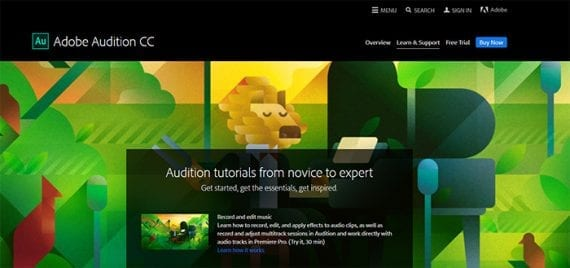Adobe Audition is audio editing software. If you create podcasts or videos, it or a solution like it may be part of your content marketing technology stack.