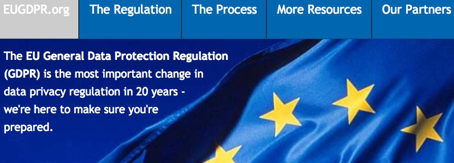 Any company worldwide with users, customers, or employees in Europe must company with the E.U.'s new General Data Protection Regulation.
