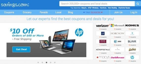 Savings.com, RetailMeNot.com, and Coupons.com are examples of high-quality coupon sites that work closely with merchants.