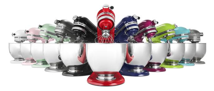 KitchenAid colors