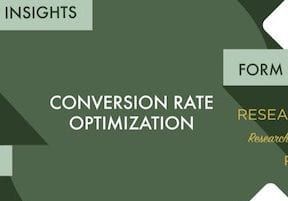 Conversion Optimization Research First, Then Test