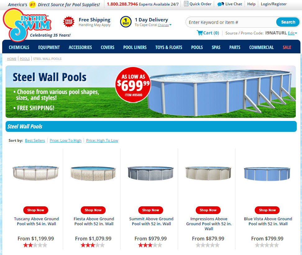 An online store category that shows the best selling yet lowest rated products first.