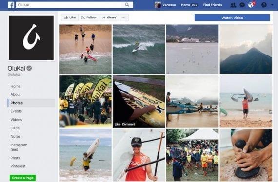 Photos on Facebook from the ninth annual OluKai Ho'olaule'a, in April 2017.