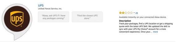 UPS Shipment Tracking