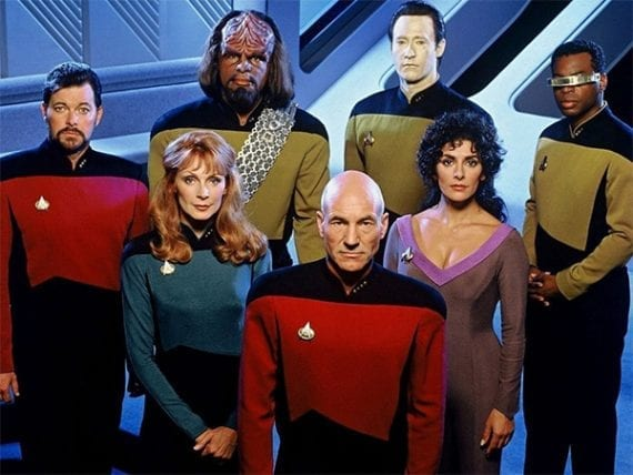 Star Trek: The Next Generation, which reached many millions of viewers, will celebrate its 30th anniversary this year.