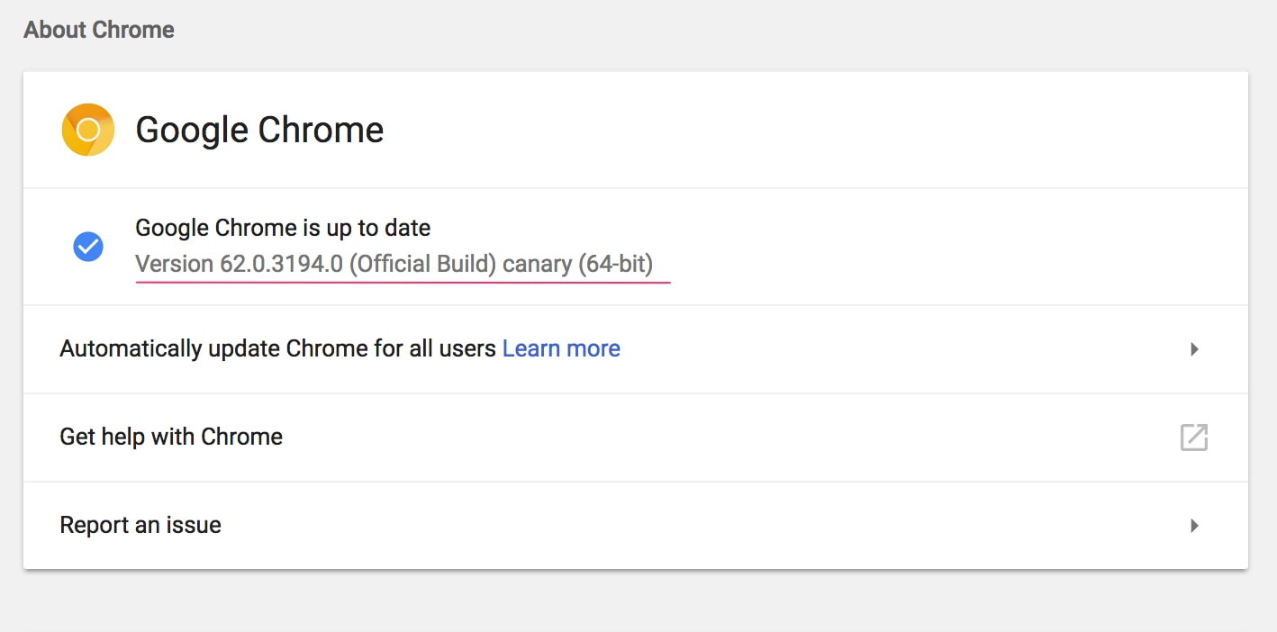 Use the Google Chrome Canary version to see if your site will be affected.