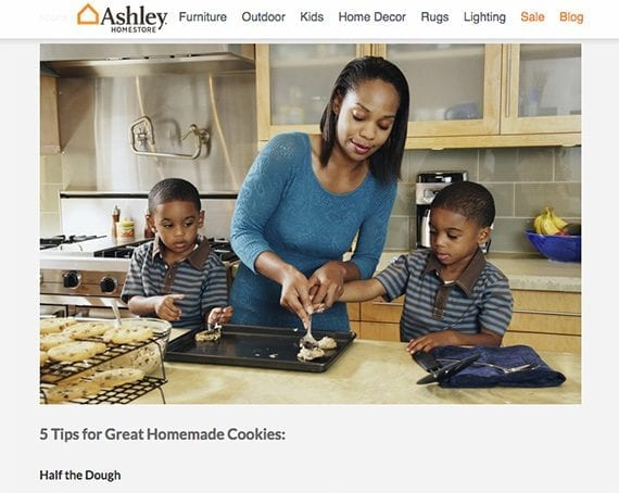 Ashley HomeStore published some baking tips to help folks who might want to celebrate National Homemade Cookies Day.