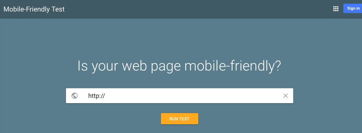 "Google is switching to a mobile-first index in 2018, wherein rankings for desktop and mobile devices will be based on a site's mobile experience. Google's ""Mobile-Friendly Test"" will identify if a site is mobile optimized and can, also, suggest performance improvements."