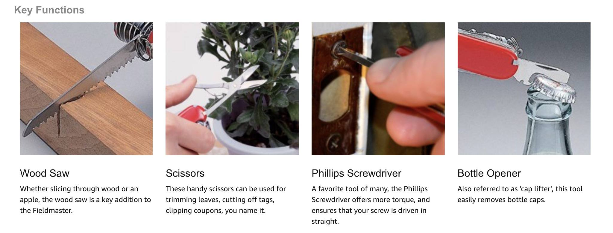 Additional product images showcasing various uses help sell more product. Image: Amazon.