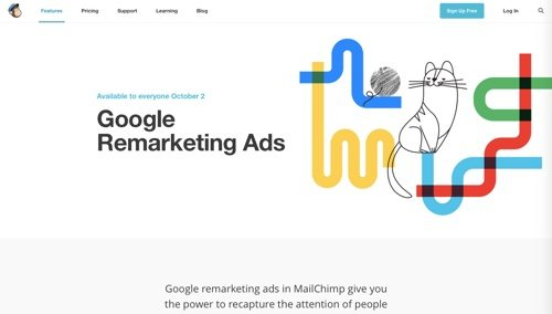 MailChimp: Google Remarketing Ads.