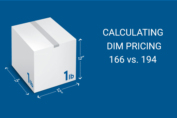 When it does apply dimensional weight, the USPS calculates it differently, in a way that is favorable to shippers.
