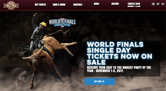 The PBR finals are just one example of a sporting event your business could feature in its content marketing.