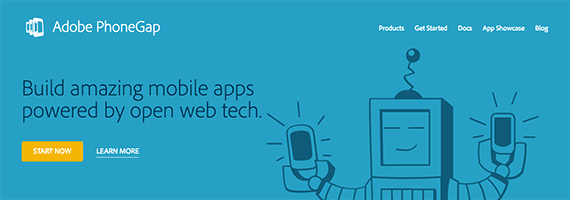 Adobe PhoneGap lets a business use common, open-source web technologies to create mobile applications.