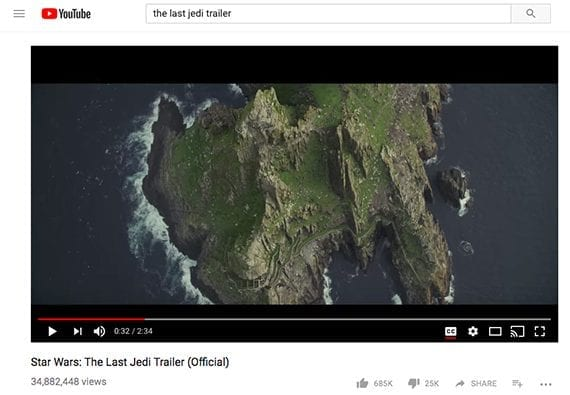 Skellig Michael is used in The Last Jedi, and provides an opportunity to relate the movie to products a store might sell.