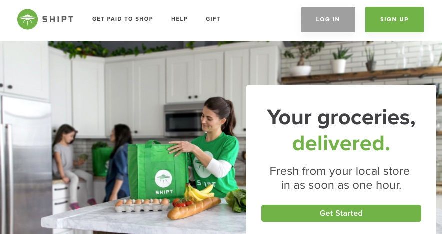 Food shopping online same day delivery