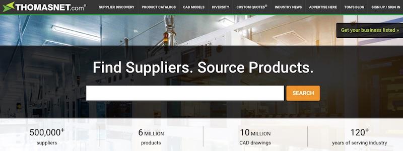 ThomasNet.com conține în cea mai mare parte produse de inginerie și de fabricație. Primeste peste 60.000 de vizitatori zilnic.