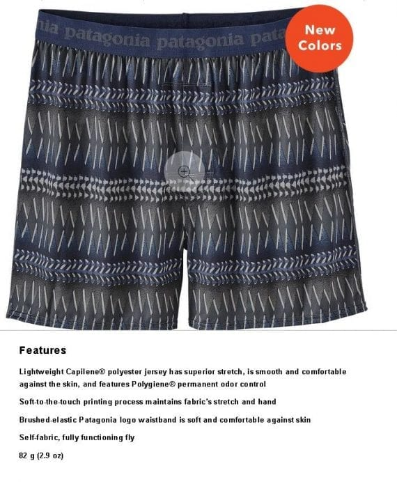 "When Patagonia describes its boxer shorts as ""comfortable against the skin"" and ""soft to the touch,"" rather than just ""comfortable"" or ""soft,"" the shopper imagines how the shorts would feel when worn."
