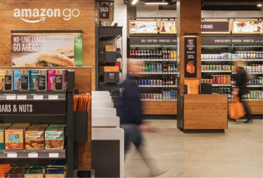 Amazon Go allows shoppers to simply pick up the items they want to purchase and walk out. There is no need to stand in lines and go through checkout.