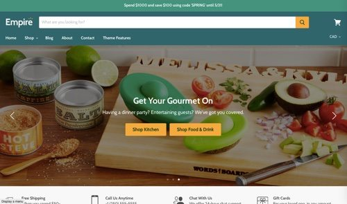 15 Popular Themes for Shopify | Practical Ecommerce