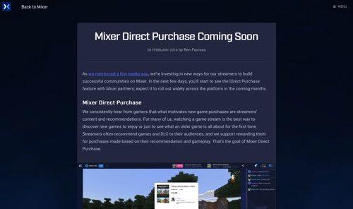 Microsoft Mixer