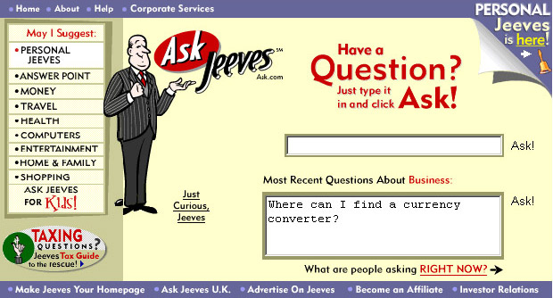 Ask Jeeves Search Engine - download.cnet.com