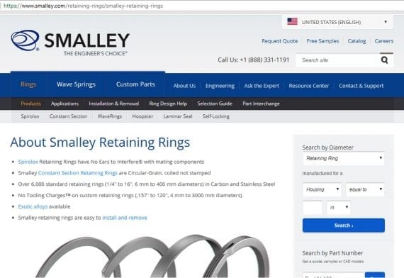 Smalley has resources, such as how-to guides, that are tailored to target customers.