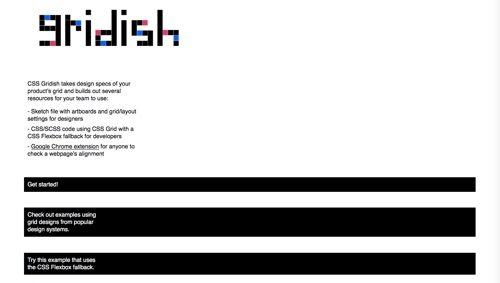 CSS Gridish