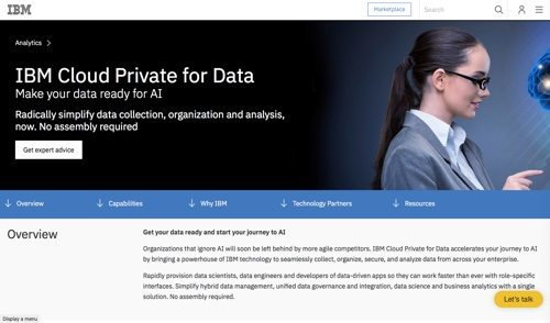 IBM Cloud Private for Data
