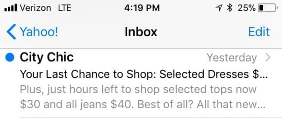 "A good preheader — ""Plus, just hours left to shop..."" — will not repeat words from the subject line."