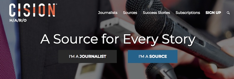 HARO connects journalists with expert sources.