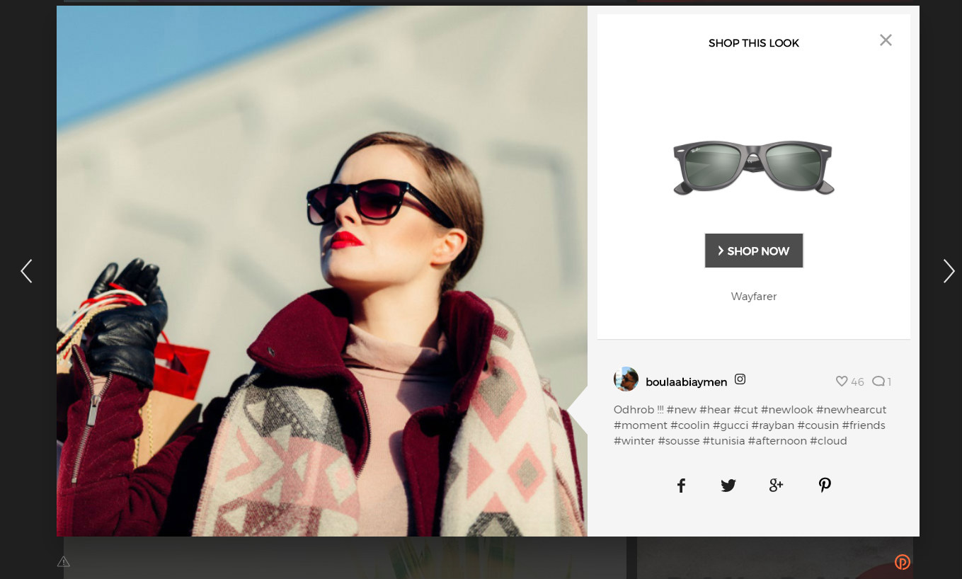 Easily integrate customer photos and videos into your ecommerce store. <em>(Click to enlarge.)</em>